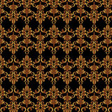 Black and gold background Stock Photography