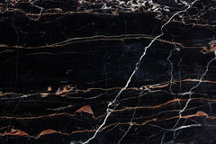 Black and gold marble texture Stock Photography