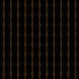 Black and gold pattern Stock Photography