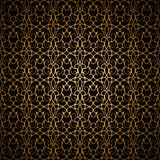 Black gold pattern Royalty Free Stock Image