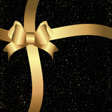 Black and golden background. Black and golden christmas background Royalty Free Stock Images