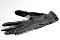 Black golf glove Stock Photography