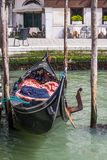 Black Gondola Waiting Stock Images