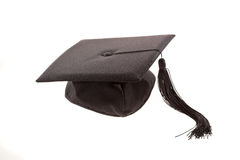 Black Graduation Cap Royalty Free Stock Images