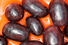 Black grape Stock Images