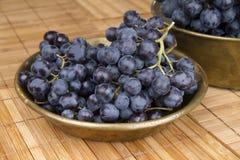 Black grape Stock Photo