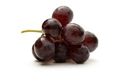 Black grapes Royalty Free Stock Images