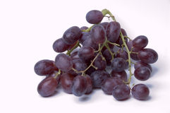 Black Grapes. A bunch of black grpaes Royalty Free Stock Images