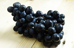 Black grapes Stock Images