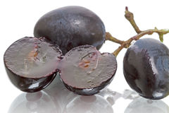 Black grapes Stock Photography