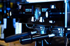 Black and Gray Coffee Machine in Close-up Photography Stock Photo