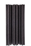 Black gray  microfiber foam wall  insulation for noise in music Stock Photos