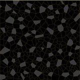 Black gray parts pattern. Black and gray pattern  eps8 graphic Royalty Free Stock Photography