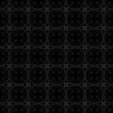 Black and gray pattern Royalty Free Stock Images