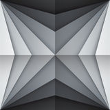 Black and gray rectangle shapes abstract Stock Photos