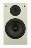 Black/Gray Speaker. Stereo system speaker in gray and black royalty free stock photos