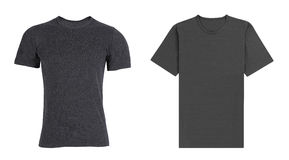Black and gray T-shirts stock image