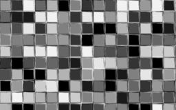 Plaid Vector Pattern. Black, gray and white color gingham pattern. Squares texture for textile. Original watercolor plaid geometric pattern for your design. New vector illustration