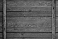 Black or gray wooden board texture Stock Photography