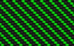 Black and green abstract background, metallic carbon look Stock Images