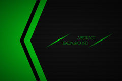 Black and green abstract background Royalty Free Stock Image