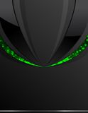 Black_and_green__background Royalty Free Stock Photography