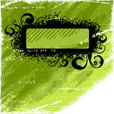 Black and green background Royalty Free Stock Photos