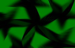 Black and green blur Royalty Free Stock Photography
