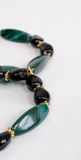Black and Green Bracelets Royalty Free Stock Photography