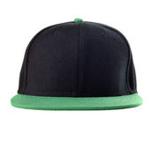 Black and green cap Stock Photography