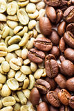 Black and green coffee Stock Photos