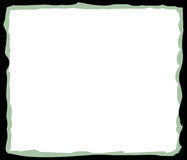 Black and Green Frame Background Stock Images