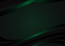 Black and green geometric abstract vector background with copy space with copy space modern design for your business vector illustration