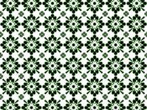 Black and Green Pattern. On white background Royalty Free Illustration