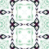 Black and green repeating seamless pattern Stock Photos