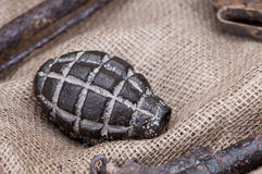 Black Grenade Royalty Free Stock Photography