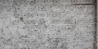 Black or grey brick wall background or texture, baner stock photos