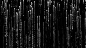 Black and grey code design royalty free illustration