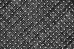 Black grey dark wicker pattern for background Rattan texture, detail handcraft bamboo weaving texture background. Woven pattern royalty free stock image
