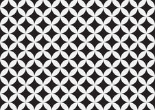Black and grey geometric circle background   abstract retro patterns wallpaper   texture design Stock Photo
