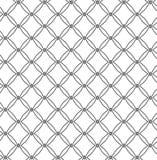 Black and grey geometric pattern. Vector pattern, geometric tile fabric print design Stock Photos
