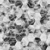 Black and grey geometrical background Stock Image