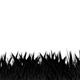 Black and grey grass abstract natural background vector illustration
