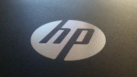 Black grey HP Stock Photography