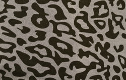 Black and grey leopard fur pattern. Stock Images