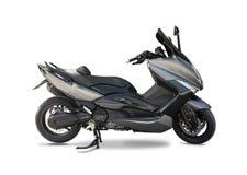 Black grey mega scooter Stock Images