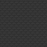 Black and grey seamless pattern chinese vector. Art Royalty Free Stock Image
