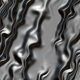 Black and grey silk material Royalty Free Stock Photos