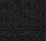 Black and grey subtle pattern design Royalty Free Stock Images