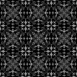 Black and grey wallpaper pattern Stock Photography
